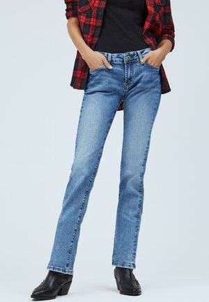 PICCADILLY - Straight leg jeans - denim