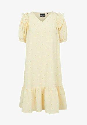 Day dress - pale banana