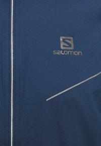 Salomon - SENSE JACKET - Outdoorová bunda - dark denim - 2