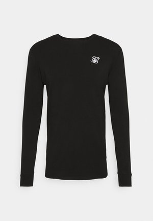 LONG SLEEVE GYM TEE - T-shirt à manches longues - jet black