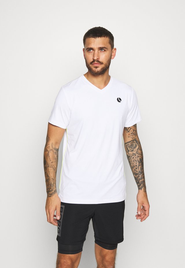 TOREN TEE - Camiseta estampada - brilliant white