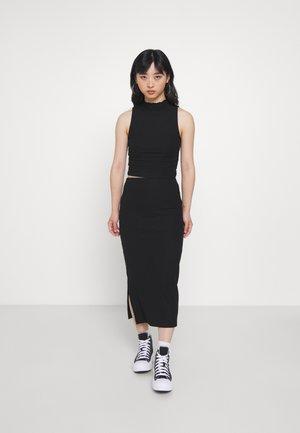 ONLNELLA HIGH NECK SKIRT SET - Top - black