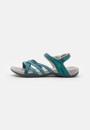 SAVANNA II  - Walking sandals - petrol blue/navigate/mint
