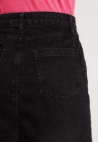 Even&Odd - Denim skirt - black - 5