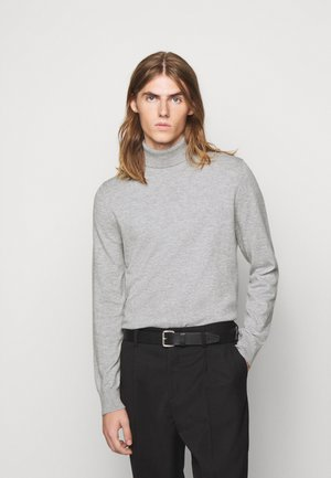 ROLLER NECK - Jumper - grey melange