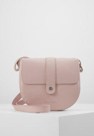 CROSSBODY BAG - Taška spříčným popruhem - light pink