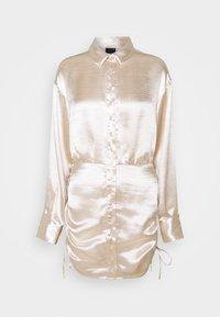 Gina Tricot - SIDNEY SHIRT DRESS - Cocktail dress / Party dress - sandshell - 5