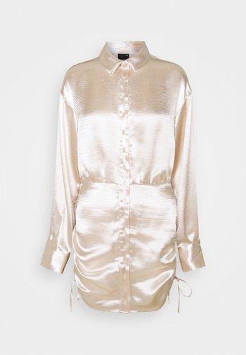 SIDNEY SHIRT DRESS - Sukienka koktajlowa - sandshell