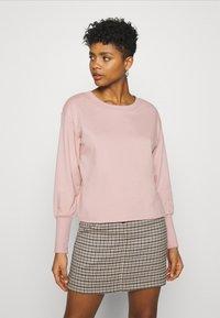 JDY - JDYDESTIN LIFE CUFF  - Sweatshirt - adobe rose - 0