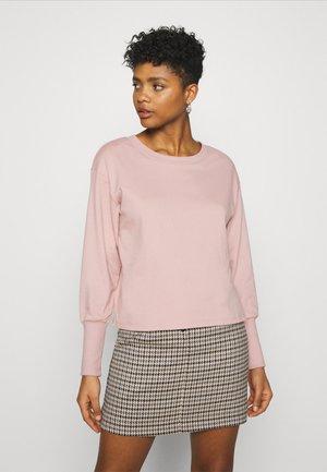 JDYDESTIN LIFE CUFF  - Sweatshirt - adobe rose