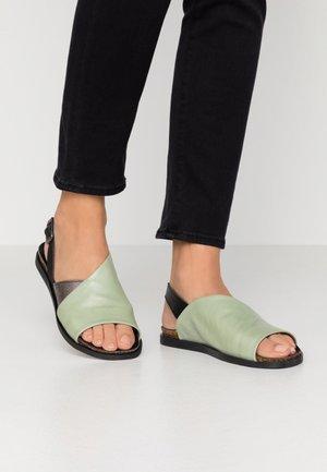 VANDA - Sandals - twister pesto