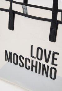 Love Moschino - TRANSPARENT LOGO SHOPPER SET - Cabas - fantasy - 6