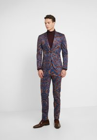 Topman - PRINTED TROUSER - Oblekové kalhoty - multi - 1