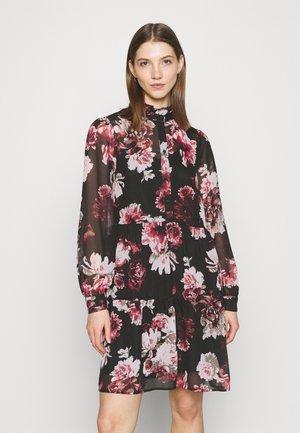 ONLTILLY HIGHNECK SHORT DRESS  - Denní šaty - black