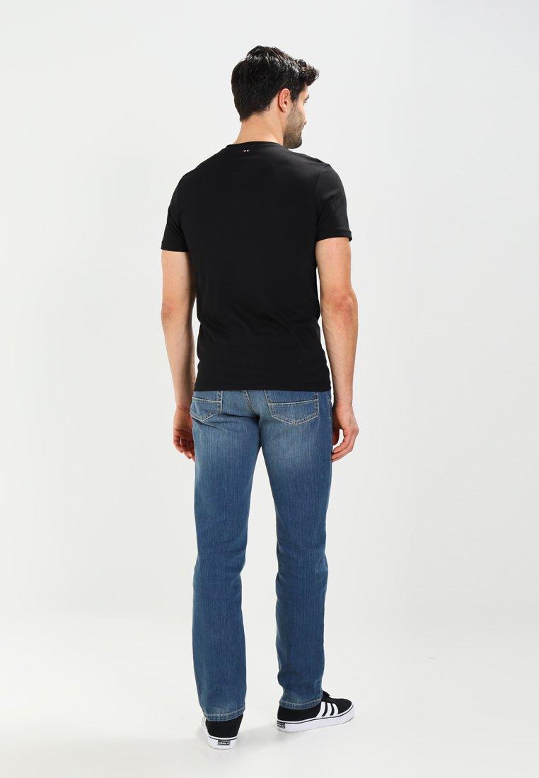 Napapijri SENOS CREW - Basic T-shirt - black 2QY8g