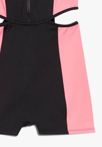 Bloch - GIRLS ZIP UP BIKETARD - Gym suit - coral - 4