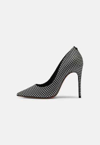 AELIA - High heels - noir/blanc