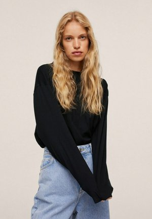 Longsleeve - zwart