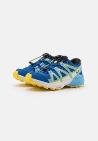 Salomon - SPEEDCROSS UNISEX - Hiking shoes - turkish sea/little boy blue/lemon zest - 1