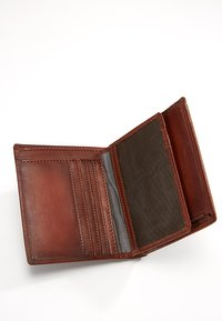 Bugatti - DOMUS RFID WALLET WITH FLAP - Wallet - cognac - 5
