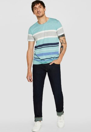 MIT RINSE-WASCHUNG - Straight leg jeans - blue rinse