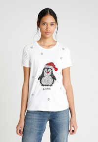 ONLY - ONLCHRISTMAS BLING BOX - T-shirts print - bright white - 0