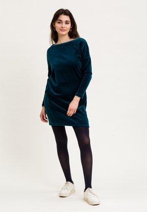 Day dress - petrolblau