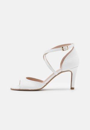 PORTU - Sandals - texas white