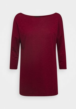 Langarmshirt - dark red
