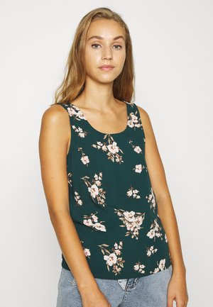 VMSIMPLY EASY TANK - Blouse - ponderosa pine/sandy