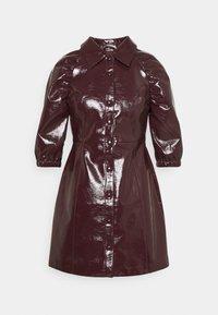 Glamorous Petite - LADIES DRESS - Blousejurk - burgundy - 5
