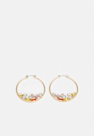 PCMAGGA HOOP EARRINGS - Earrings - gold-coloured/multi