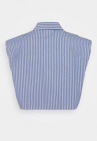 Monki - Button-down blouse - blue - 6