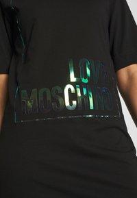 Love Moschino - Jerseyjurk - black - 5