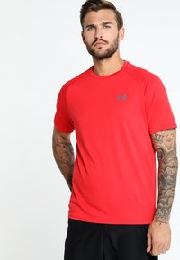 Under Armour - HEATGEAR TECH  - T-shirts print - red/graphite - 0