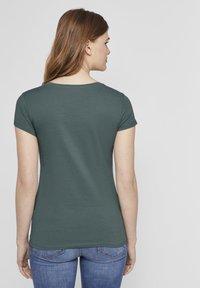 TOM TAILOR DENIM - Print T-shirt - mineral stone blue - 2