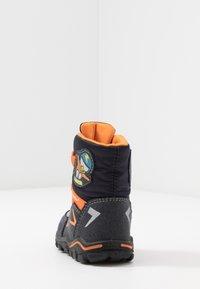 Lurchi - KERO SYMPATEX - Winter boots - atlantic/orange - 3