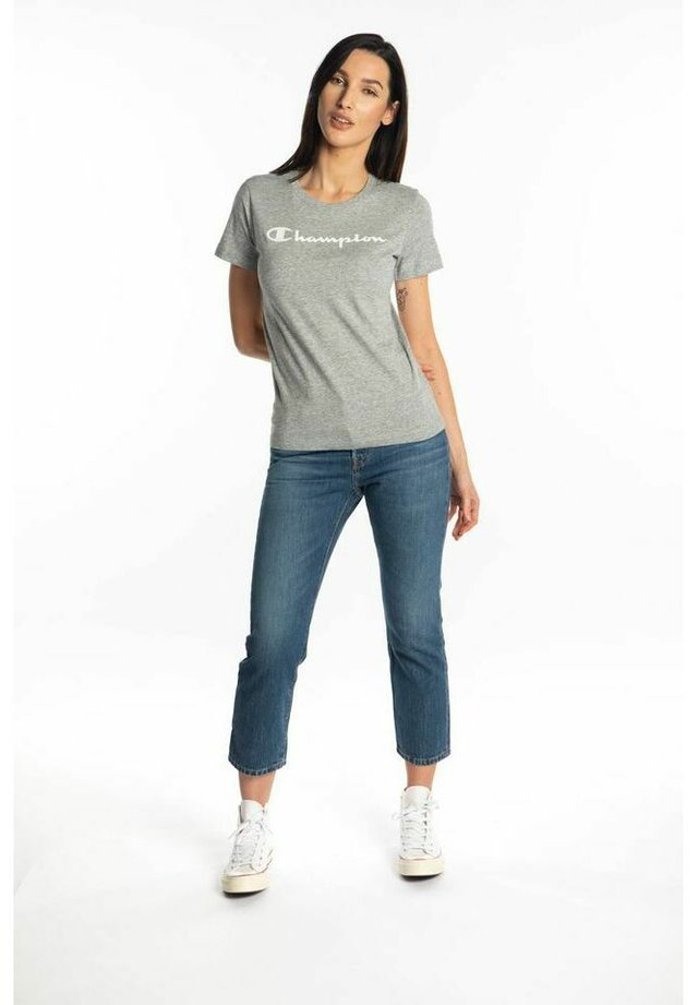 T-shirt z nadrukiem - light grey