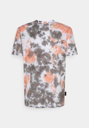 UNISEX - T-shirt z nadrukiem -  orange/grey