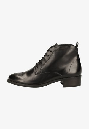 Lace-up ankle boots - schwarz 017
