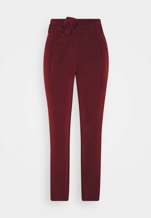ONLCAROLINA MAIA BELT PANT - Trousers - port royale