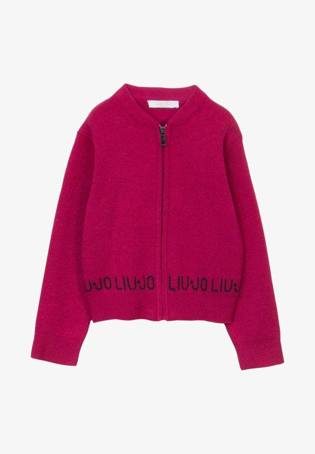 JACQUARD  - Chaqueta de punto - pink