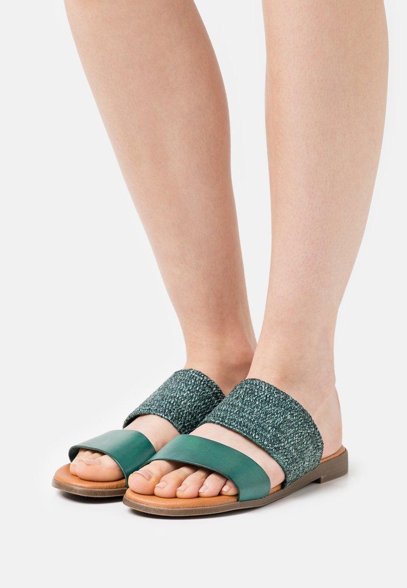 Grand Step Shoes - FIBI - Mules - seagreen