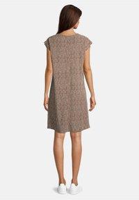 Betty & Co - Day dress - weiß/braun - 1