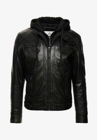 Serge Pariente - NILS  - Leather jacket - black - 3