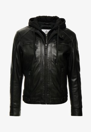 NILS  - Leren jas - black