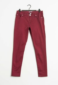 EXPRESS - Straight leg jeans - red - 0