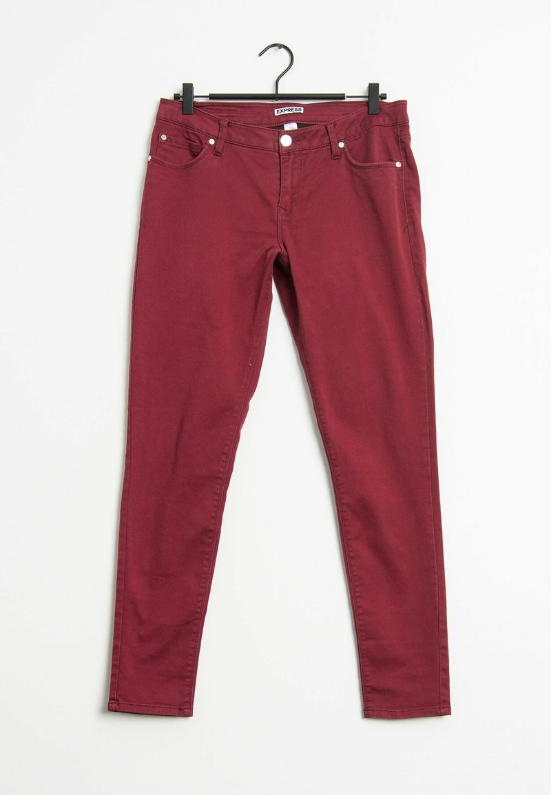 EXPRESS - Straight leg jeans - red