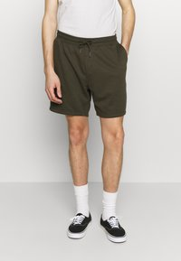 Burton Menswear London - 2 PACK - Spodnie treningowe - navy/khaki - 3