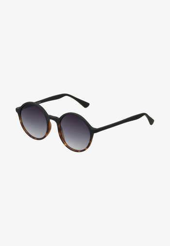 MADISON - Sunglasses - matte black/tortoise